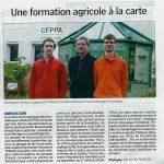 Les BPREA FOAD du CFPPA dans la presse